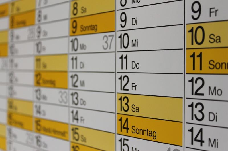 """Bild: """"Kalender"""" von Uwe Schlick   www.pixelio.de"""